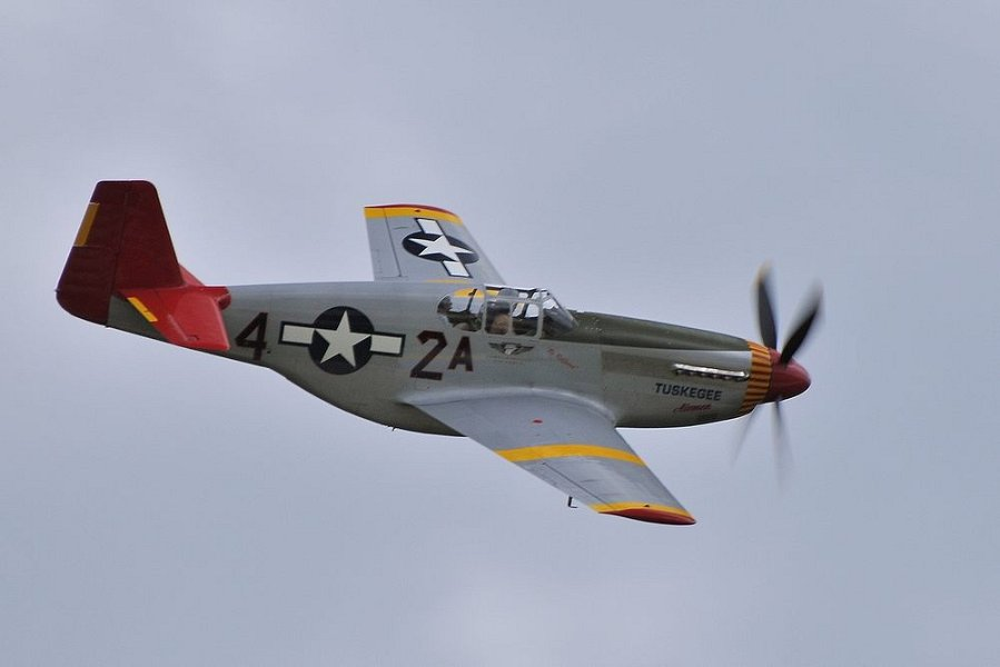 Red Tail P 51 Dsc 6723