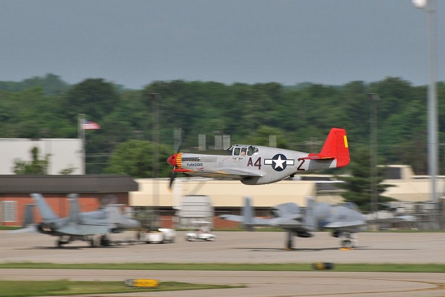 Tuskegee Airmen Red Tail P51 Mustang History