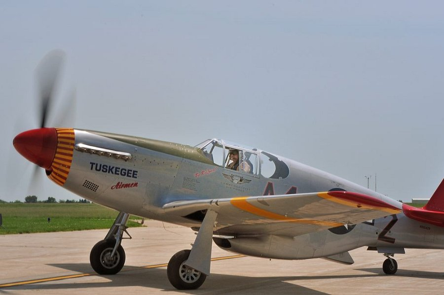 P 51 Red Tails Red Tail P-51 DSC 7836